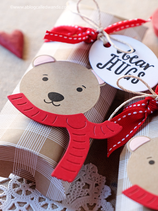 Bear Hugs Valentine's Pillow Boxes