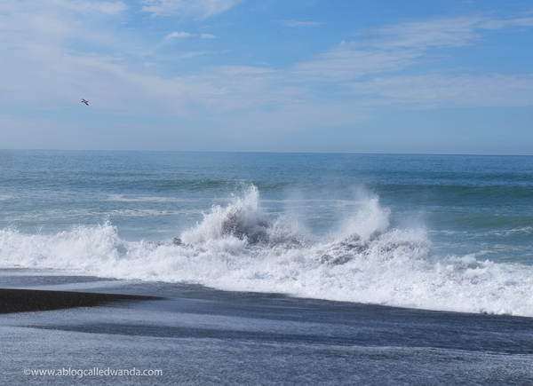 Pacific Ocean waves. Pacifica California. Photo by Wanda Guess