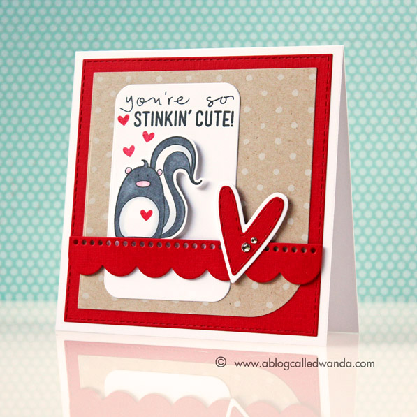 1 Simon Says Stamp Stinkin' Cute card by Wanda Guess