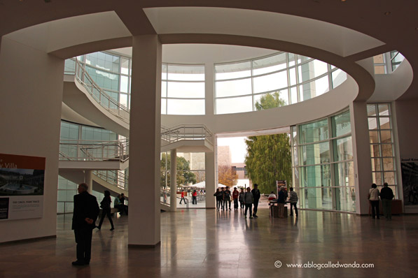 Getty front entrance