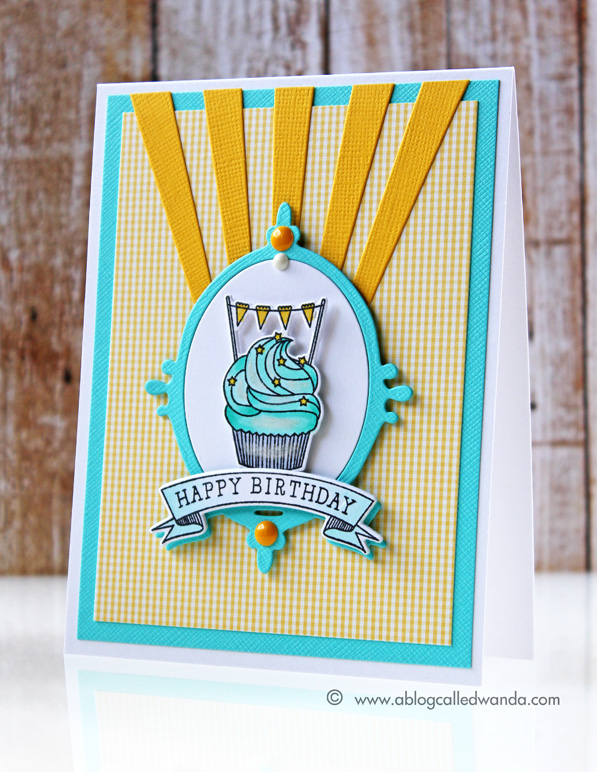 Papertrey Ink Bakers Dozen - card by Wanda Guess
