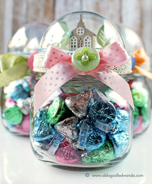 Easter Goodies Mason Jar Project A Blog Called Wanda
