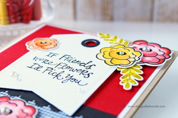 Reverse Confetti Tag die - card by Wanda Guess
