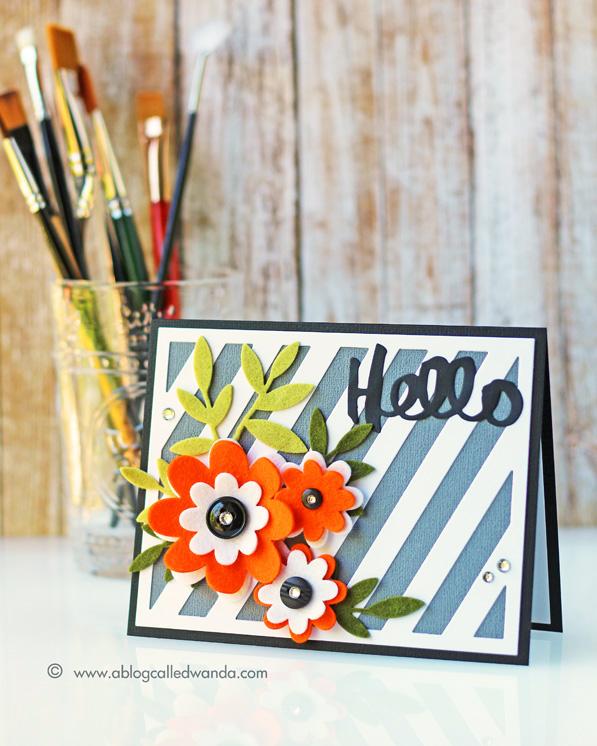 Papertrey Ink Blog Hop - card by Wanda Guess
