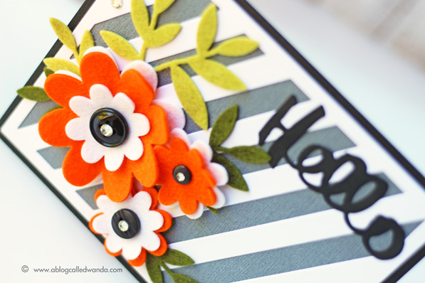 PTI Oopsie Daisy stamp set. Card by Wanda Guess for the blog hop June 2015