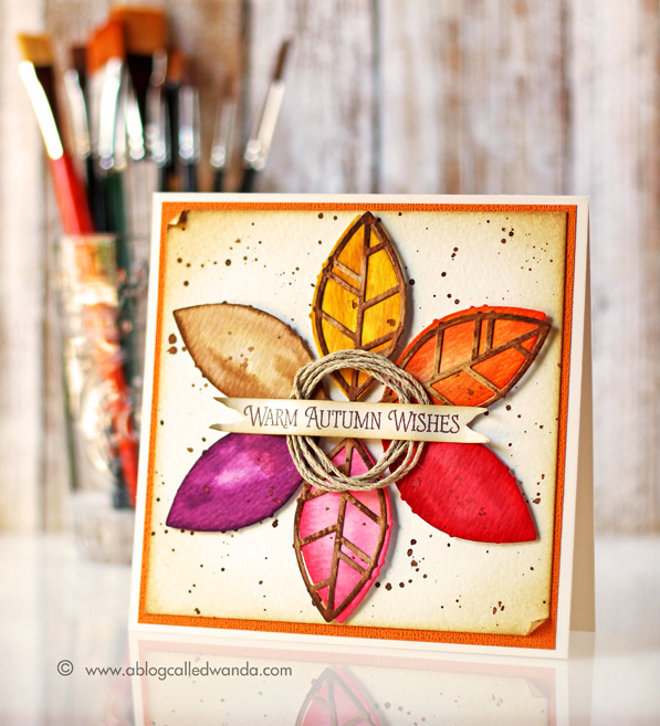 Papertrey Ink Blog Hop - August 2015 - card by Wanda Guess