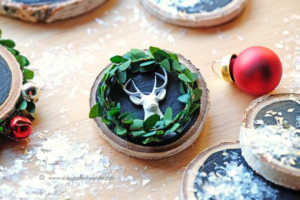 Antlers chalkboard pin - by Wanda Guess