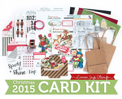 Holly jolly card kit