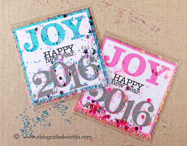 New Year's Card - made by Wanda Guess