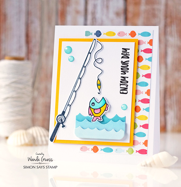 Simon Says Stamp Dads and Grads. Card by Wanda Guess