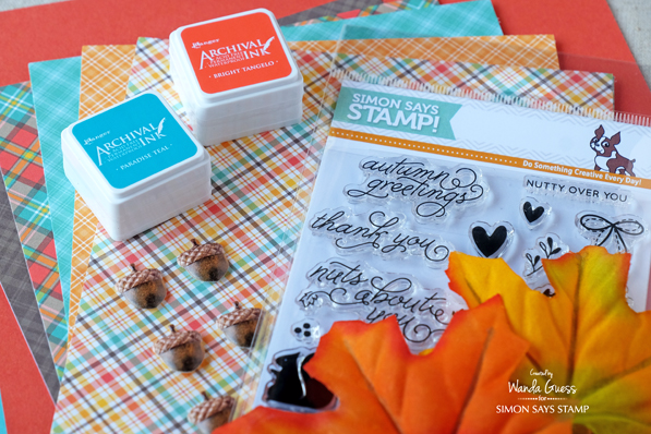 Simon Says Stamp October 2016 Card Kit