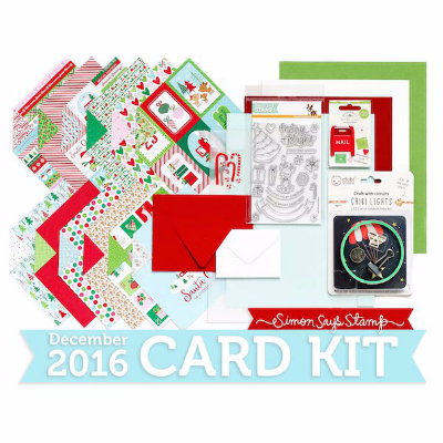 Simon Says Stamp December 2016 card kit