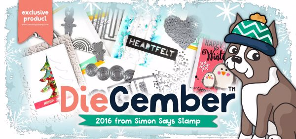 Simon Says Stamp Diecember 2016 new release