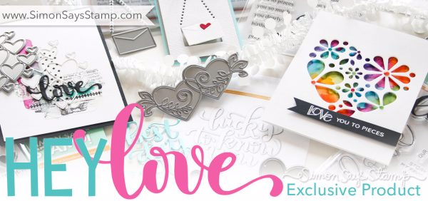 Simon Says Stamp Hey Love new release