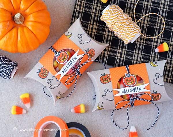 HALLOWEEN TREATS WITH HERO ARTS STAMPS. WANDA GUESS