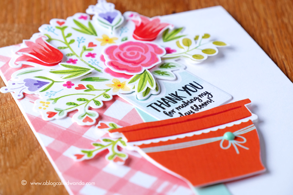Papertrey Ink Make it Market Mini Kit Bloom and Grow. Projects by Wanda Guess for PTI.