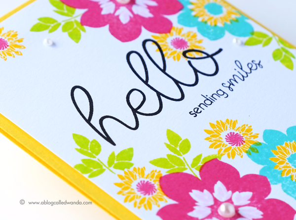 PAPERTREY INK JUNE RELEASE WAYS TO SAY HELLO STAMP SET