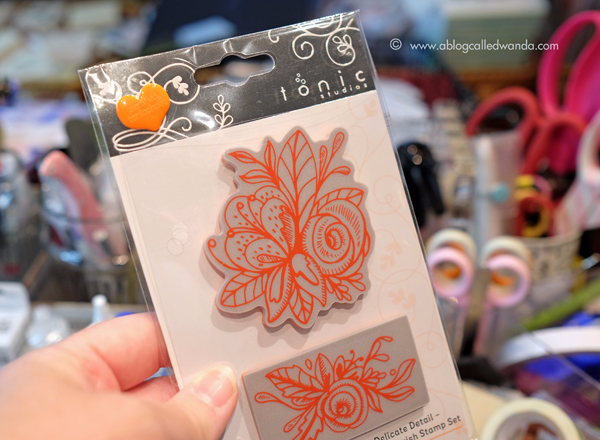 Tonic Floral Flourish stamp set
