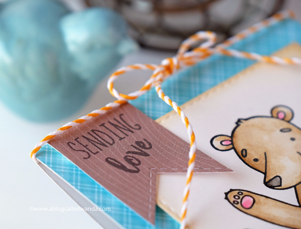 Handmade card - Honey Bee Stamps