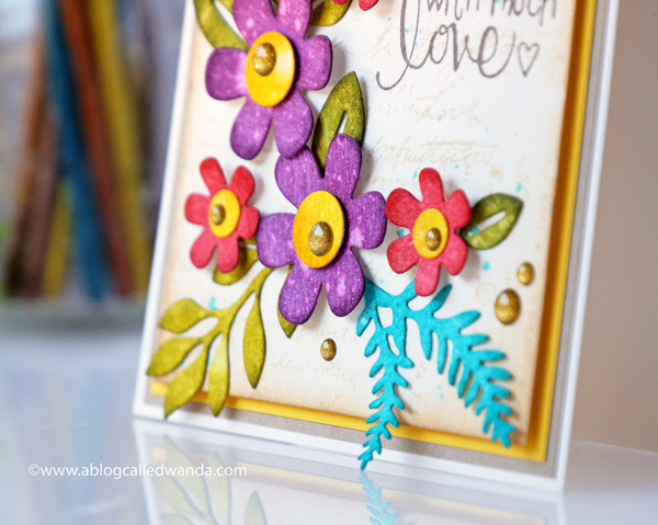 Spellbinders dies and stamps