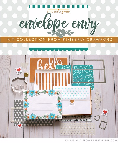 PAPERTREY INK ENVELOPE ENVY KIT