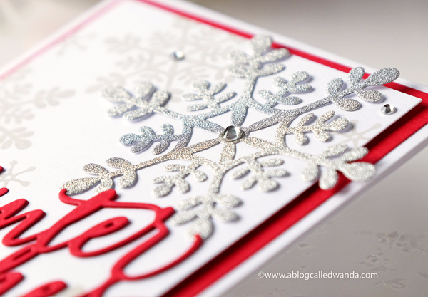 SNOWFLAKE STAMPS AND DIES