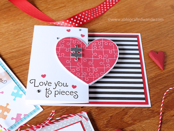 Papertrey Ink Valentines Perfect Fit stamp set
