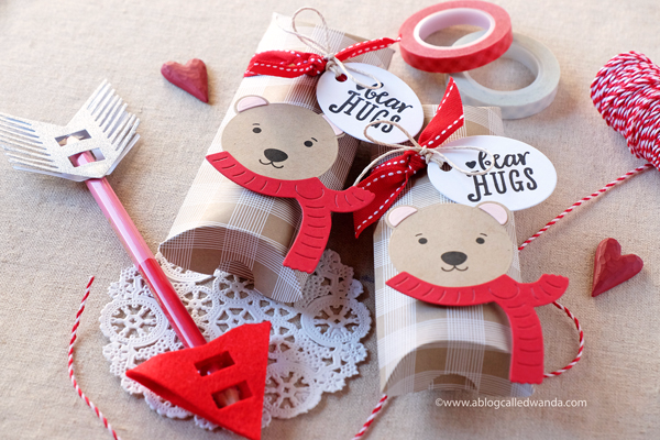 Valentine Treats - do it yourself - crafts - papertrey ink