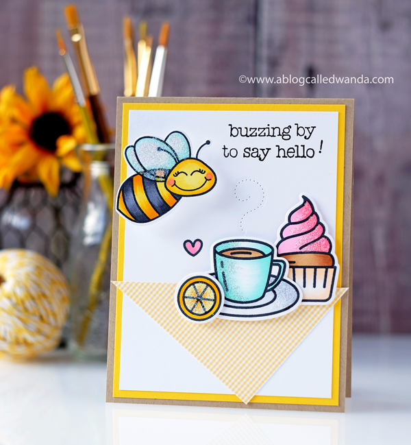 Honey Bee Stamps Tea Time and Build A Bee