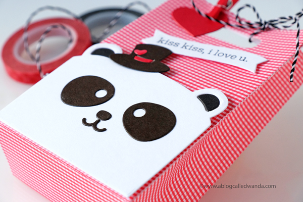 Mama Elephant Panda Treat Favor Bags