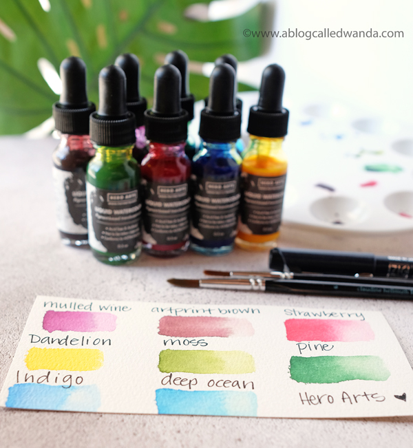 Hero Arts Liquid Watercolors