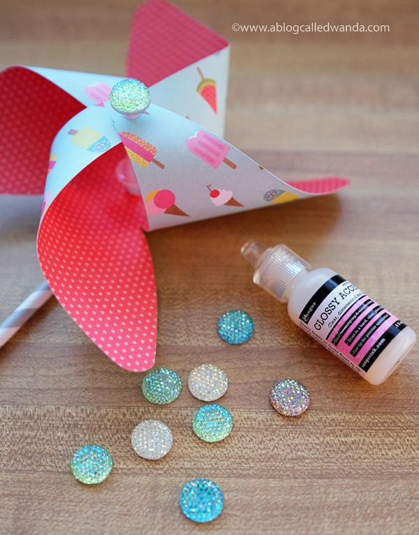 DIY Pinwheels. Party Favors
