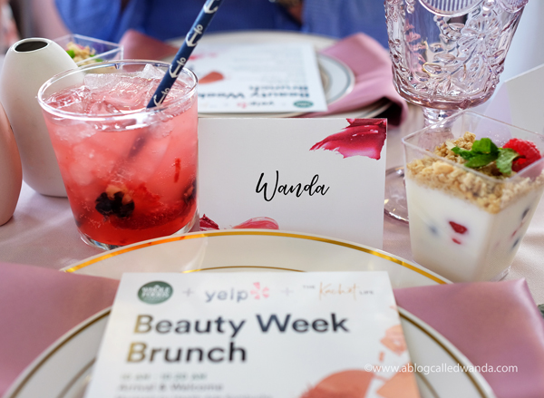 Whole Foods Beauty Week Brunch