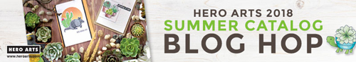Hero Arts Summer Catalog blog hop with prizes