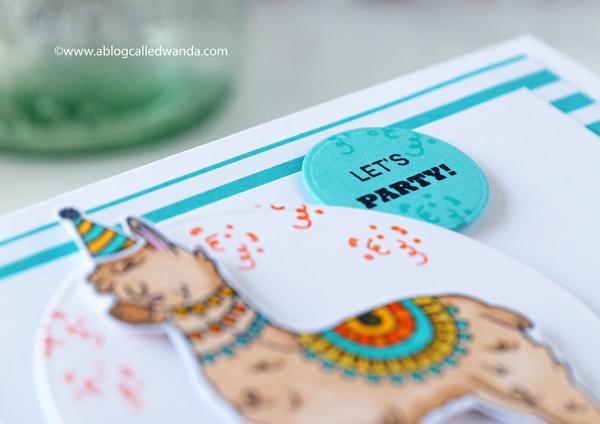 Hero Arts Alpaca Fiesta stamps and dies