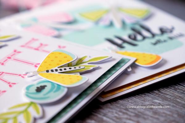 Handmade cards florals