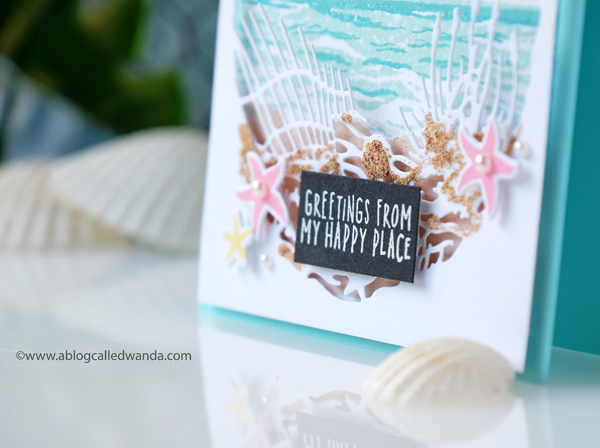 Hero Arts Beach Theme Monthly card kit