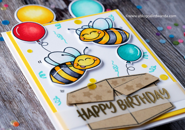 Honey Bee Stamps Build A Bee