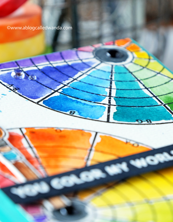 watercolor color wheel mijello mission