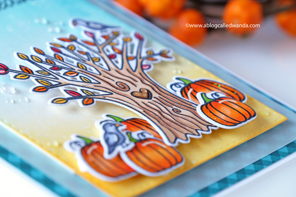 Fall and Autumn themed cards with copic markers