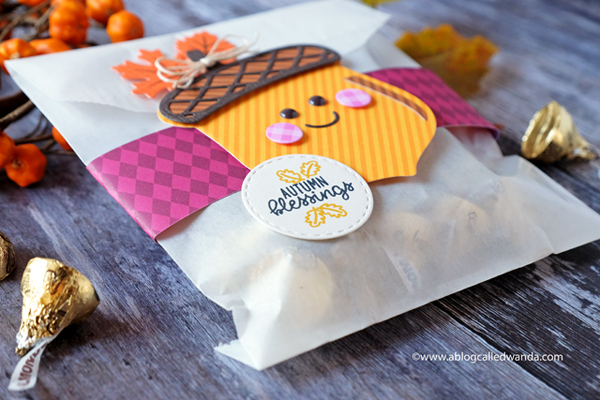 Fall and thanksgiving treat bags and favors