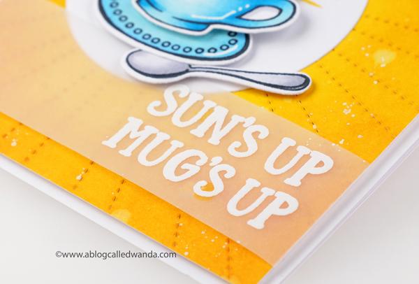 Reverse Confetti stamps