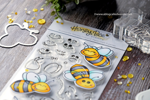 Honey Bee Stamps Copics
