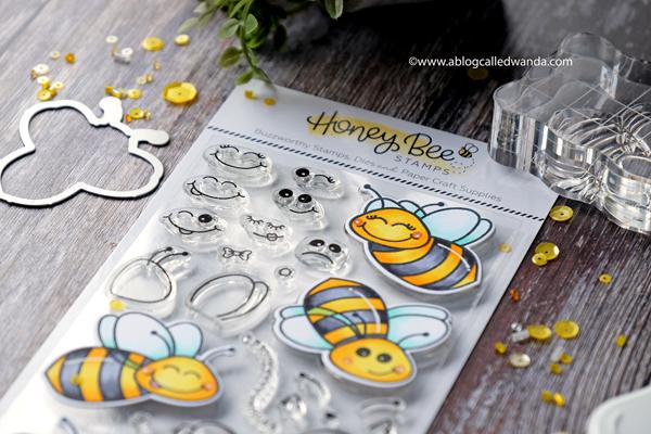 Honey Bee Stamps Copics