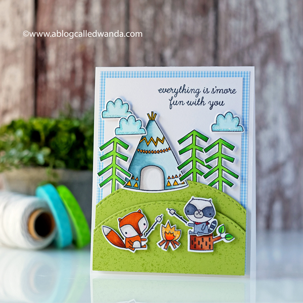 Reverse Confetti Greatest Adventure stamps and dies. Blog Hop new release 2018. Wanda Guess. Copic Coloring