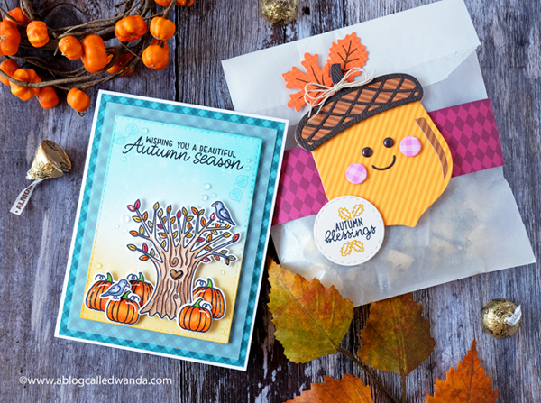 Sunny Studio Stamps and Dies for Fall and Autumn