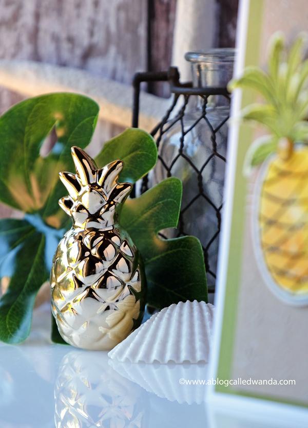 pineapple decor photo