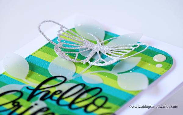 A Blog Called Wanda Butterfly Card