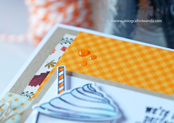 Fall patterned papers for card making