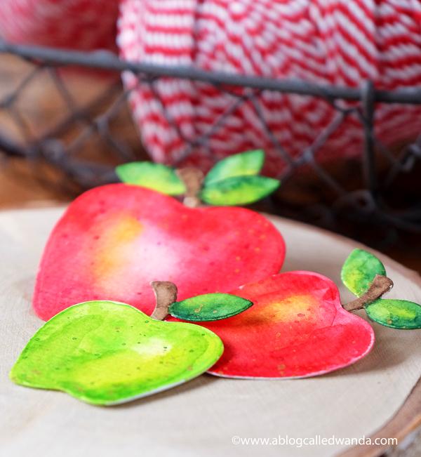 watercolor apples mijello mission gold